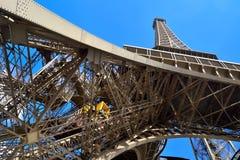 Lift in de Toren van Eiffel Royalty-vrije Stock Afbeeldingen