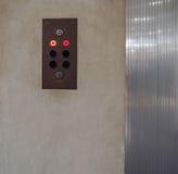 Lift elevator keypad Stock Photos