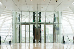 Lift glass Royalty Free Stock Photography