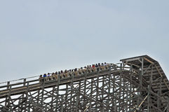 Lift Hill Royalty Free Stock Images
