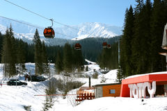 Lift in Jasna. Stock Photography