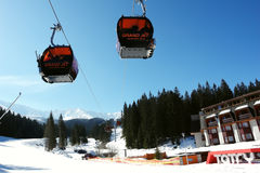 Lift in Jasna. Royalty Free Stock Image