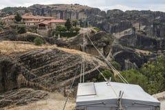 Lift in Meteora in Griekenland Royalty-vrije Stock Foto