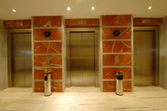 Lift in modern hotel Stock Afbeelding