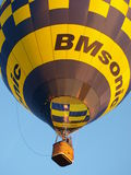 Lift-off of a balloon, Naleczow, Poland Stock Image