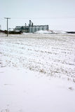 Lift op sneeuwgebied Royalty-vrije Stock Afbeelding