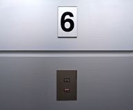 Lift panel Stock Photo