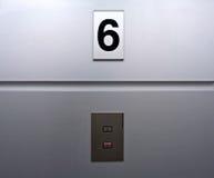 Lift panel Stock Photo