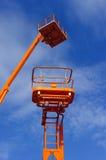 Lift platform bucket Royalty Free Stock Photo