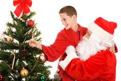 Lift From Santa Stock Photography