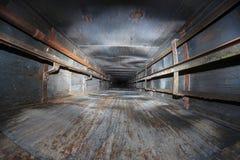 Lift shaft abandoned Stock Image
