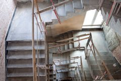 Lift shaft construction Stock Photos