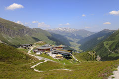 Lift station, Sommerbergalm in Tyrol, Austria Royalty Free Stock Photo