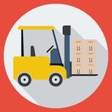 Lift Truck Royalty Free Stock Image