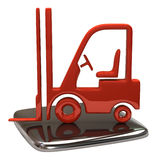 Lift truck icon Stock Images