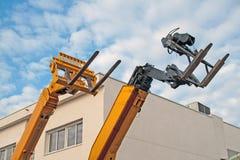 Lift trucks, fenwicks Royalty Free Stock Images