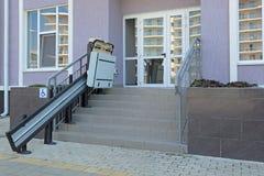 Lift voor de gehandicapten stock afbeeldingen