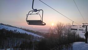 Lift voor het snowboarding Royalty-vrije Stock Fotografie