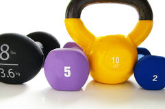 Lift weights Royalty Free Stock Photography