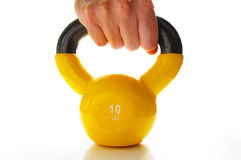 Lift weights Stock Image