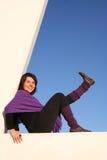 Lift your leg Stock Photography