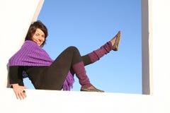 Lift your leg Royalty Free Stock Image