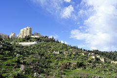 Lifta village ruins near Jerusalem. Royalty Free Stock Photo