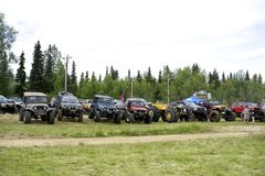 Lifted Jeeps Stock Images