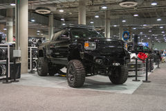 Lifted Truck on display Stock Images