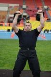 Lifter веса Стоковое Изображение RF