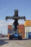 Lifter контейнера Стоковые Фото