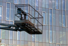 lifter budynku. Zdjęcie Stock