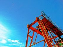 Lifter crane Stock Images