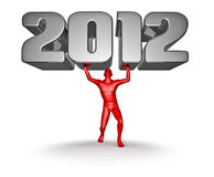 Lifting 2012 Stock Images