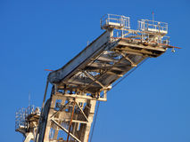 Lifting arm of Large crane Stock Images