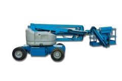 Lifting boom lift on isolation white background., Heavy equipment. Lifting boom lift on isolation white background stock photo