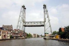 Lifting bridge. Stock Image