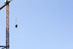 Lifting cargo crane Stock Photo