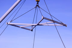 Lifting crane Royalty Free Stock Photos