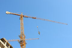 Lifting crane Royalty Free Stock Image