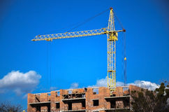 Lifting crane Stock Photography