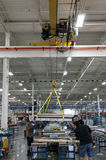 Lifting crane Stock Images