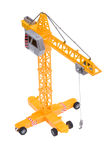 The lifting crane toy Stock Photo
