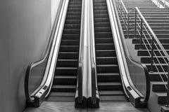 Lifting escalator Royalty Free Stock Photo