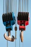 Lifting hooks Royalty Free Stock Photography