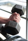 Lifting Iron Stock Photo
