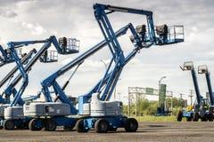 Lifting machine stock images
