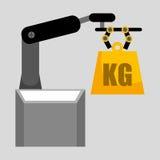 Lifting machine. Design, vector illustration eps10 graphic vector illustration
