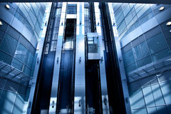 Lifts in modern interior Stock Image