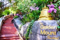 Liftstyle en el templo de la montaña de oro 0092 Imagen de archivo